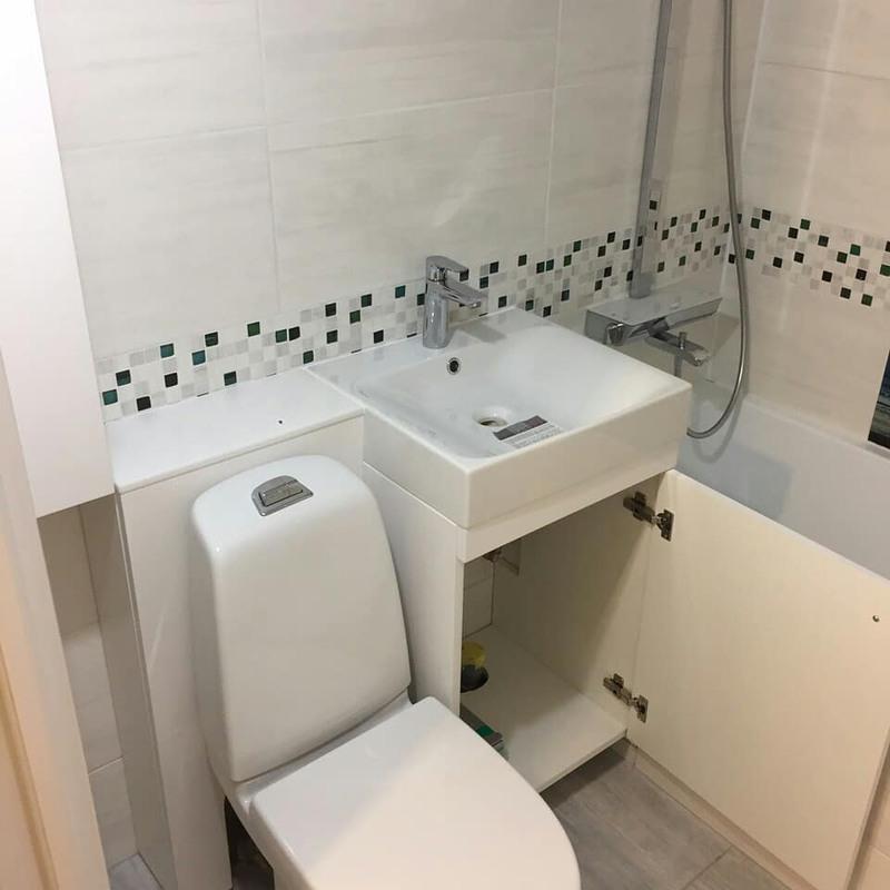 Мебель для ванной комнаты-Мебель для ванной «Модель 73»-фото5