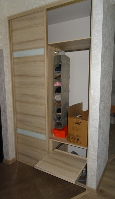 Встроенные шкафы-купе-Шкаф-купе из ЛДСП «Модель 46»-фото2