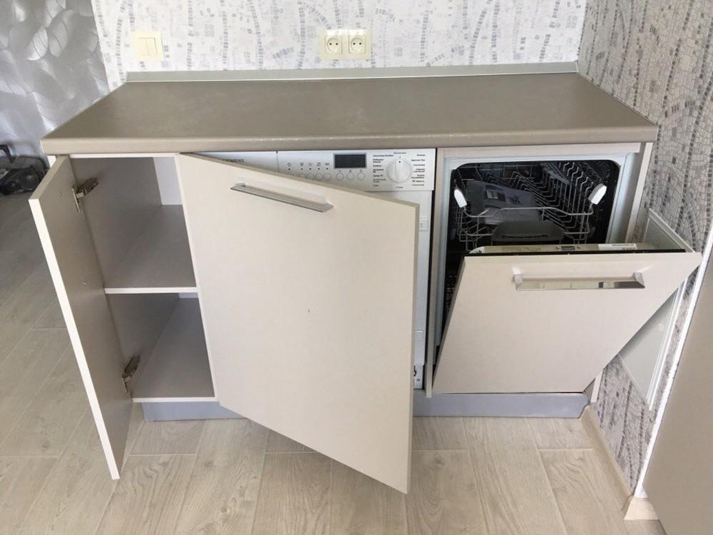 Белый кухонный гарнитур-Кухня МДФ в ПВХ «Модель 168»-фото10