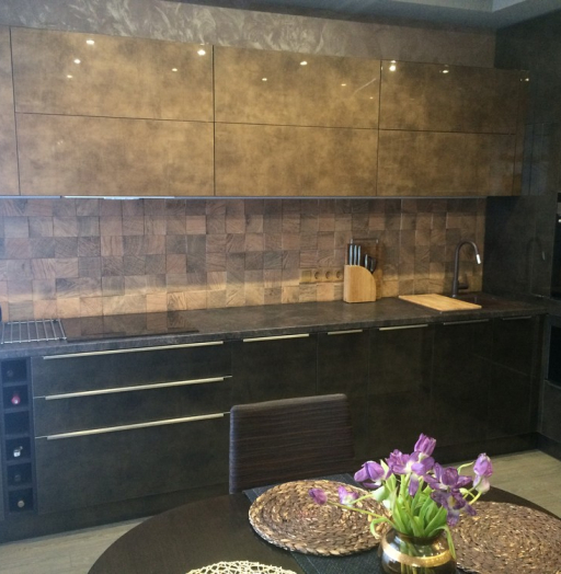 -Кухня из пластика «Модель 113»-фото14