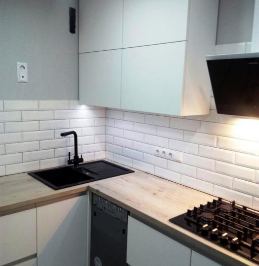 -Кухня из пластика «Модель 198»-фото17