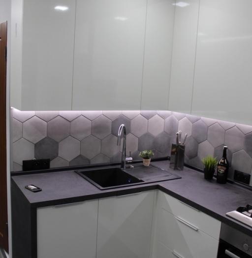 -Кухня из пластика «Модель 449»-фото12