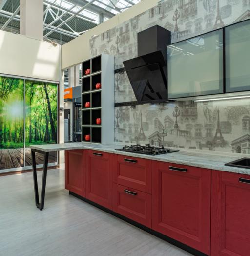 -Кухня МДФ в ПВХ «Модель 51»-фото6