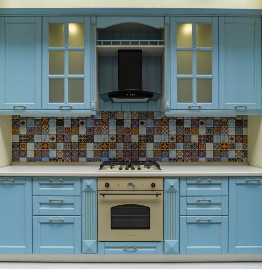 -Кухня МДФ в ПВХ «Модель 54»-фото15