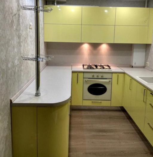 -Кухня МДФ в эмали «Модель 163»-фото23