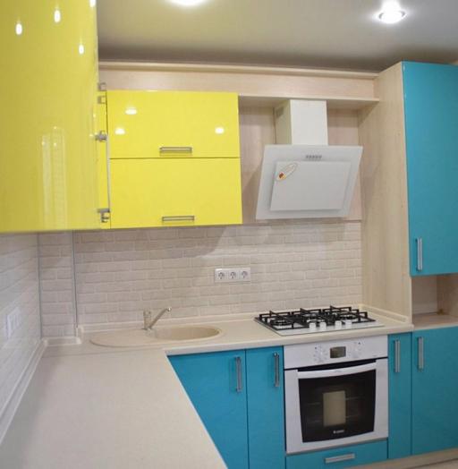 -Кухня МДФ в эмали «Модель 167»-фото9