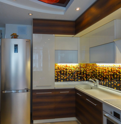 -Кухня из акрила «Модель 299»-фото27