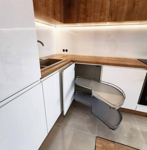 -Кухня МДФ в эмали «Модель 631»-фото29